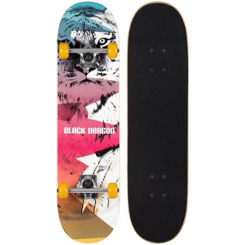 skateboard Black dragon 52 Tiger